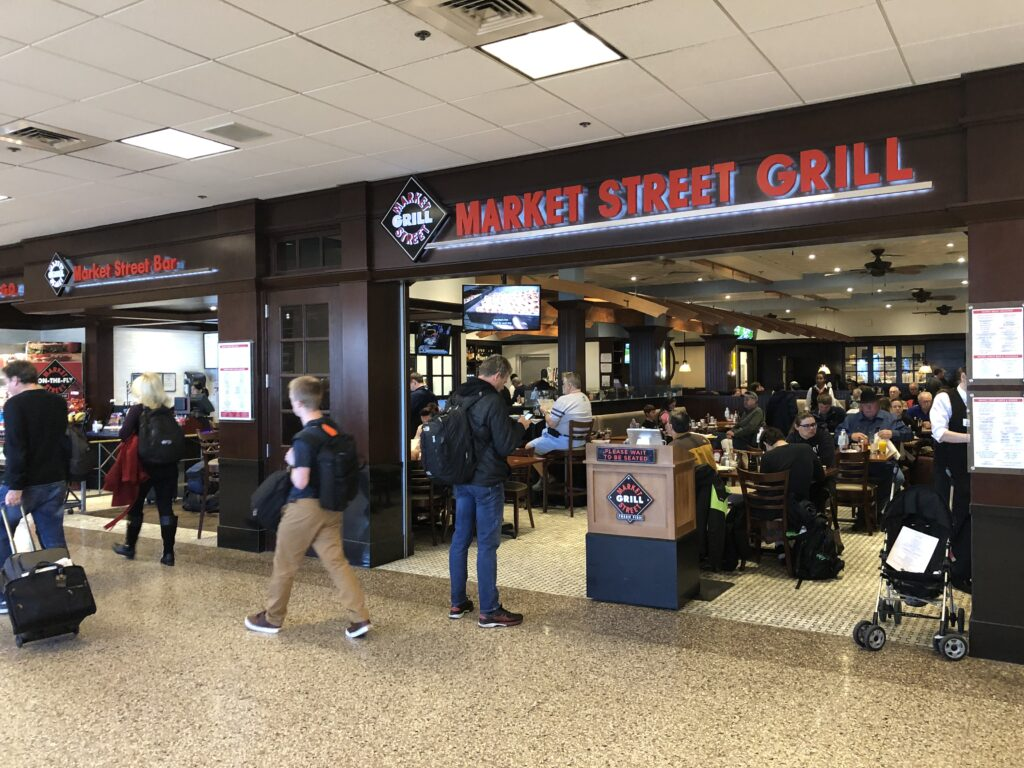 Market Street Grill - Best SLC Airport Restaurants