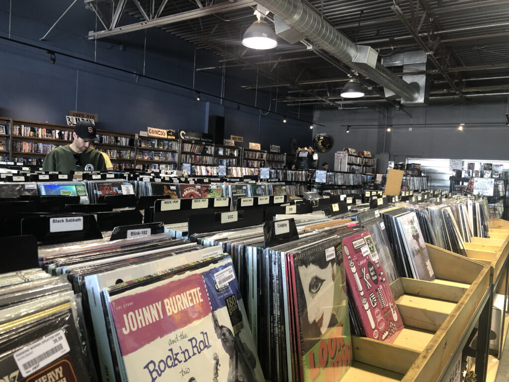 Graywhale entertainment record store salt lake city