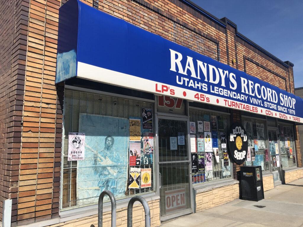Randy's Record Shop Salt Lake City