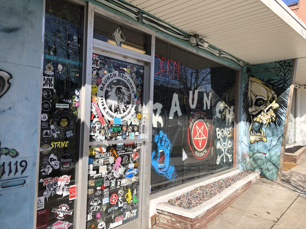Raunch Records Salt Lake City