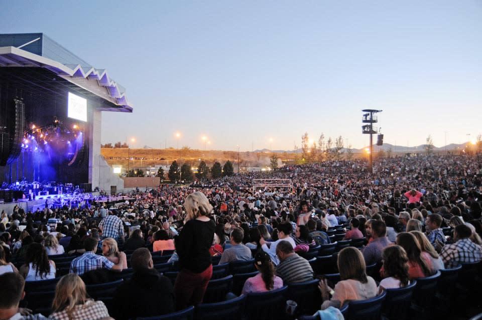 Outdoor Concert at Usana Amphitheater